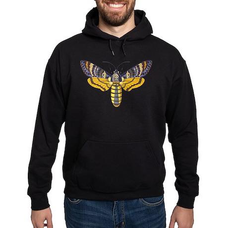 Death's Head Moth Hoodie (dark)