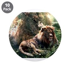 "Lion Spirit 3.5"" Button (10 pack)"