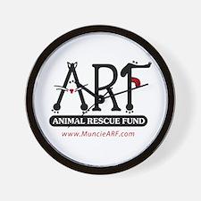 Unique Dog and cat non profit rescue group Wall Clock