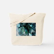 Ammonite Seascape Tote Bag