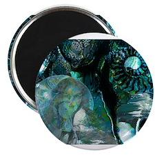 Ammonite Seascape Magnet