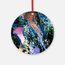 Jellyfish Forest Ornament (Round)