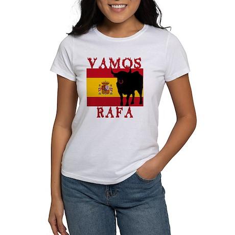 Vamos Rafa Tennis Women's T-Shirt