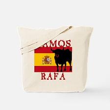 Vamos Rafa Tennis Tote Bag