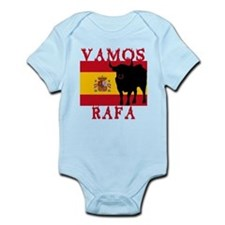 Vamos Rafa Tennis Infant Bodysuit