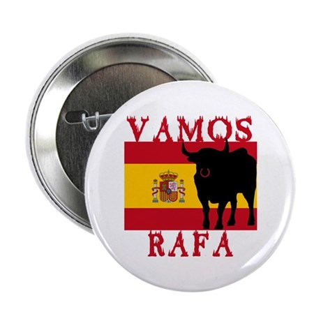"Vamos Rafa Tennis 2.25"" Button (100 pack)"