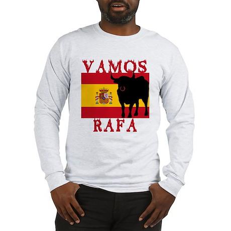 Vamos Rafa Tennis Long Sleeve T-Shirt