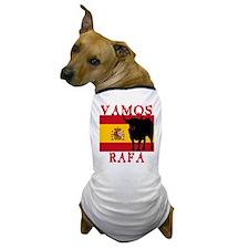 Vamos Rafa Tennis Dog T-Shirt
