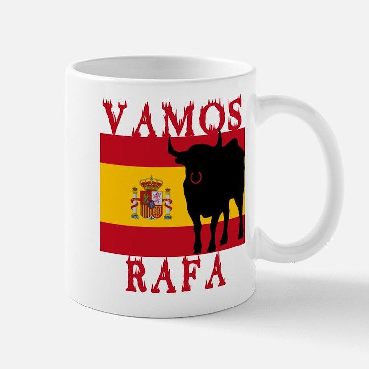 Vamos Rafa Tennis Small Small Mug
