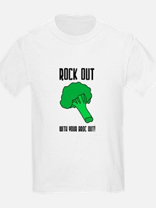 Broccolli vegetrian vegan Kids T-Shirt
