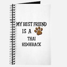My best friend is a THAI RIDGEBACK Journal