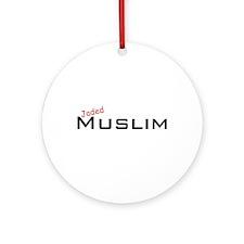 Jaded Muslim Ornament (Round)