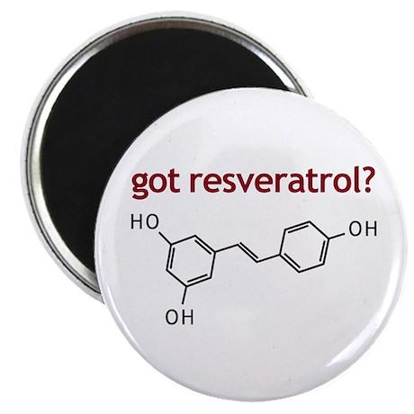 """Got Resveratrol 2.25"""" Magnet (100 pack)"""
