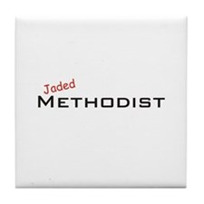 Jaded Methodist Tile Coaster