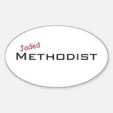 Jaded Methodist Oval Decal