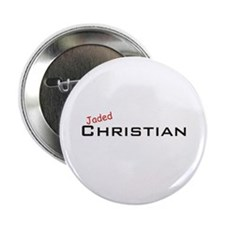 """Jaded Christian 2.25"""" Button"""