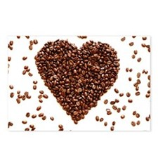 Cute Coffee beans Postcards (Package of 8)