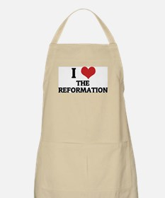 I Love The Reformation BBQ Apron