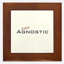 Jaded Agnostic Framed Tile