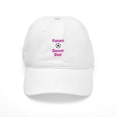 Future Soccer Star (pink) Baseball Cap