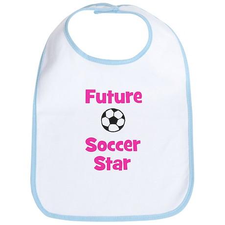 Future Soccer Star (pink) Bib