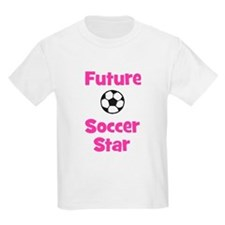 Future Soccer Star (pink) T-Shirt