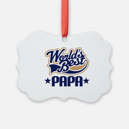 Unique Papa Ornament