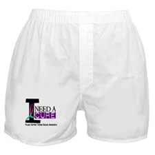 I Need A Cure THYROID DISEASE Boxer Shorts