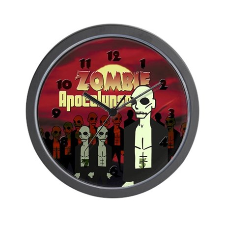 Zombie Apocalypse Wall Clock