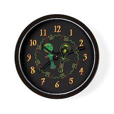 Voodoo Idols Wall Clock