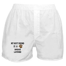My best friend is a SWEDISH LAPPHUND Boxer Shorts