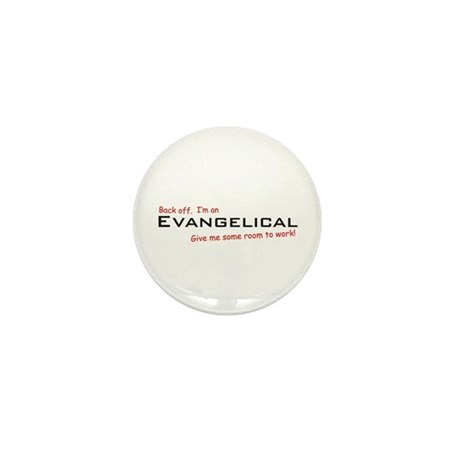I'm an Evangelical Mini Button