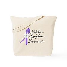 HodgkinsLymphomaSurvivor Tote Bag
