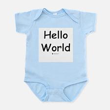 Hello World - Baby Geek Infant Creeper