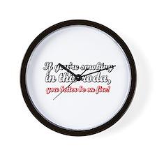 Capoeirista. Non-Smoker Wall Clock
