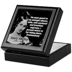 Mary Shelley Frankenstein Keepsake Box