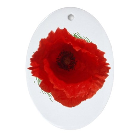 Lest we forget . . . Oval Ornament
