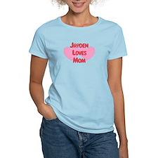Jayden Loves Mom T-Shirt