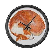 Sleeping Large Wall Clock