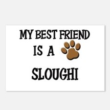 My best friend is a SLOUGHI Postcards (Package of