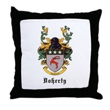 Doherty Coat of Arms Throw Pillow