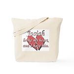 Josiah broke my heart and I hate him Tote Bag