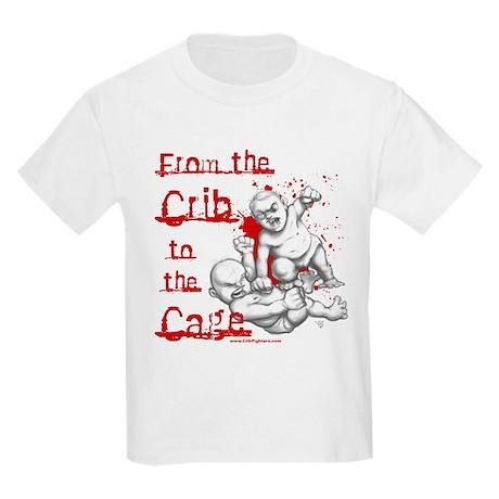 Crib to the Cage Hardcore Kids Light T-Shirt