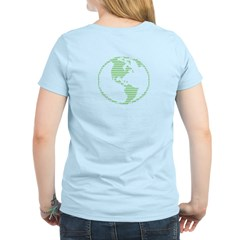 ASCII Green Earth T-Shirt
