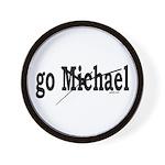 go Michael Wall Clock