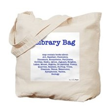 Library Bag A to Z Tote Bag