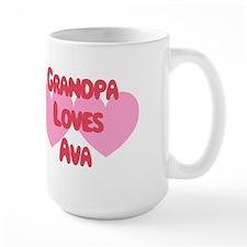Grandpa Loves Ava Mug