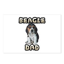 Beagle Dad Postcards (Package of 8)