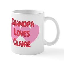 Grandpa Loves Claire Mug