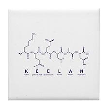 Keelan Peptide Tile Coaster